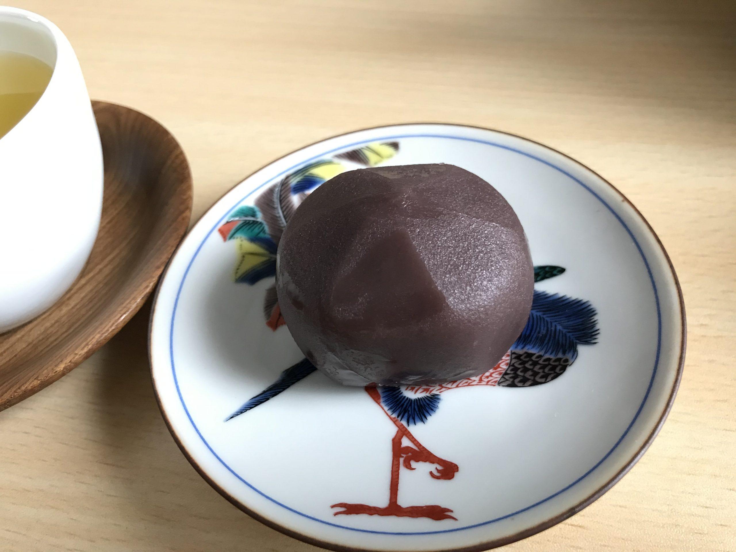 【和菓子】七福さんの『福もち』