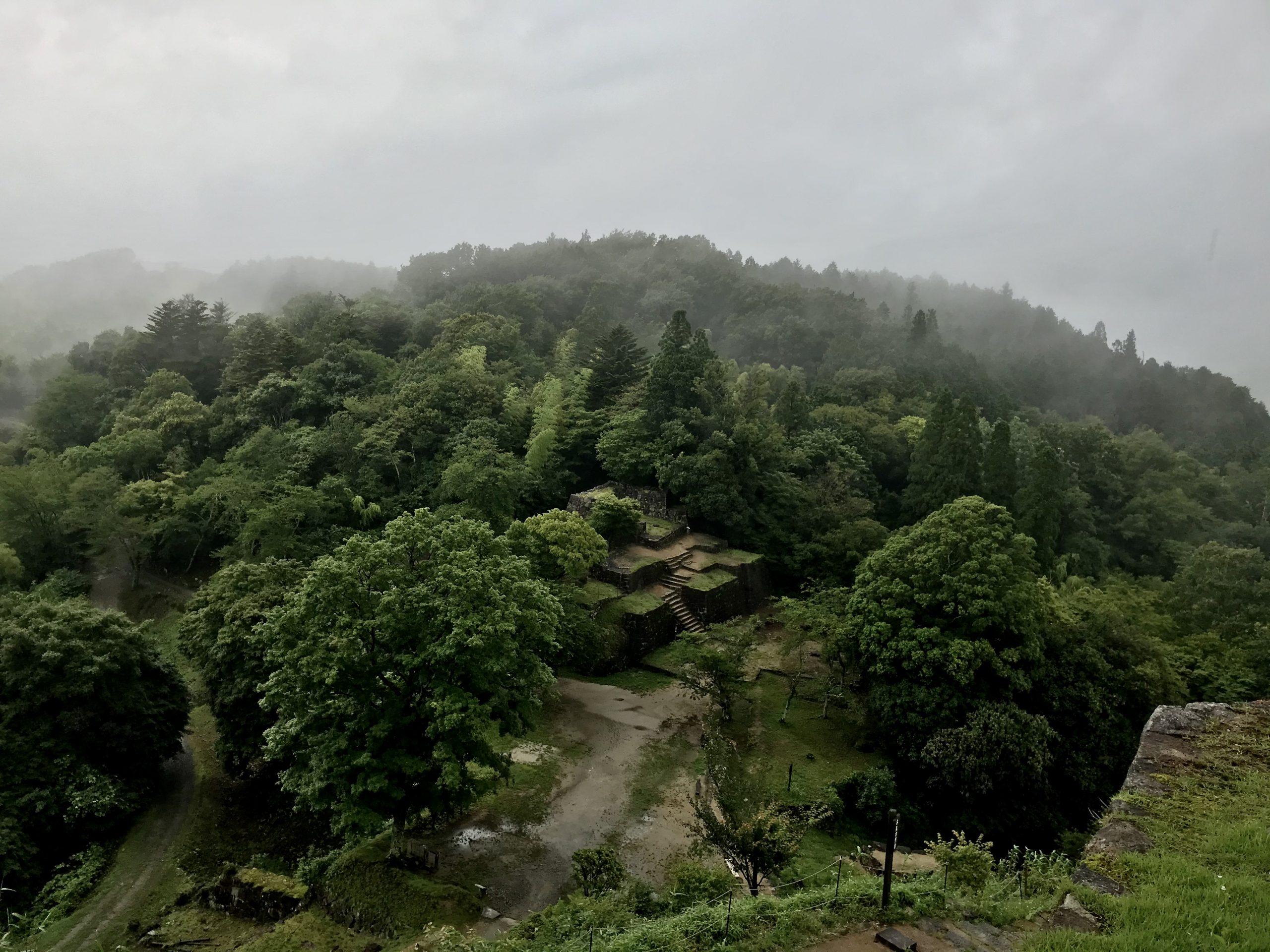 岐阜県中津川市のマチュピチュ苗木城