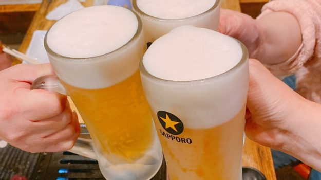 今日はビール日和
